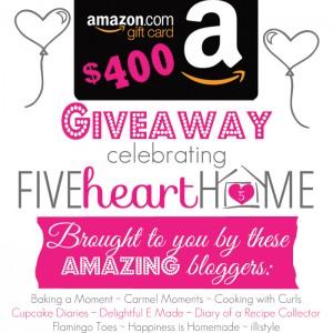 Win a $400 Amazon Gift Card