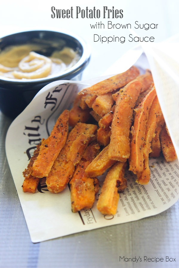 Sweet Potato Fries #SweetSwaps #SplendaSweeties