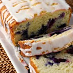 Blueberry Yogurt Loaf Cake