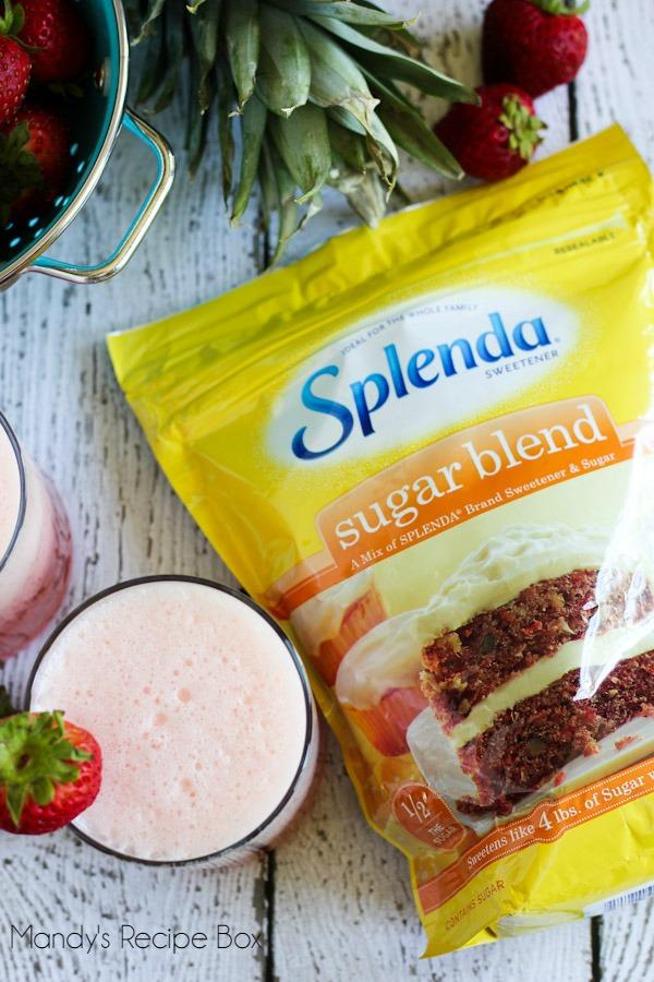 Agua Fresca with Splenda #SplendaSweeties #SweetSwaps