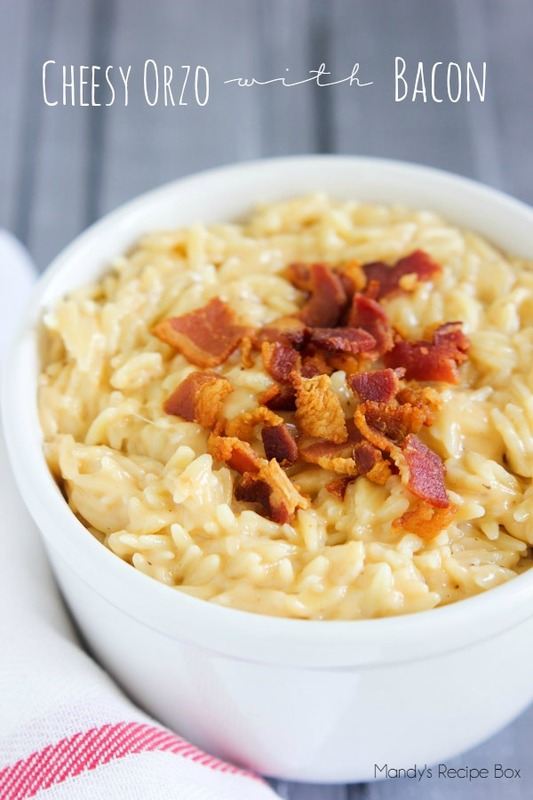 Cheesy Orzo With Bacon Mandy S Recipe Box