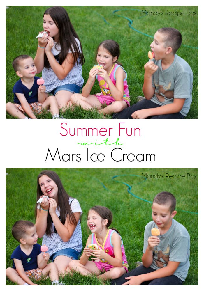 Mars Ice Cream fun