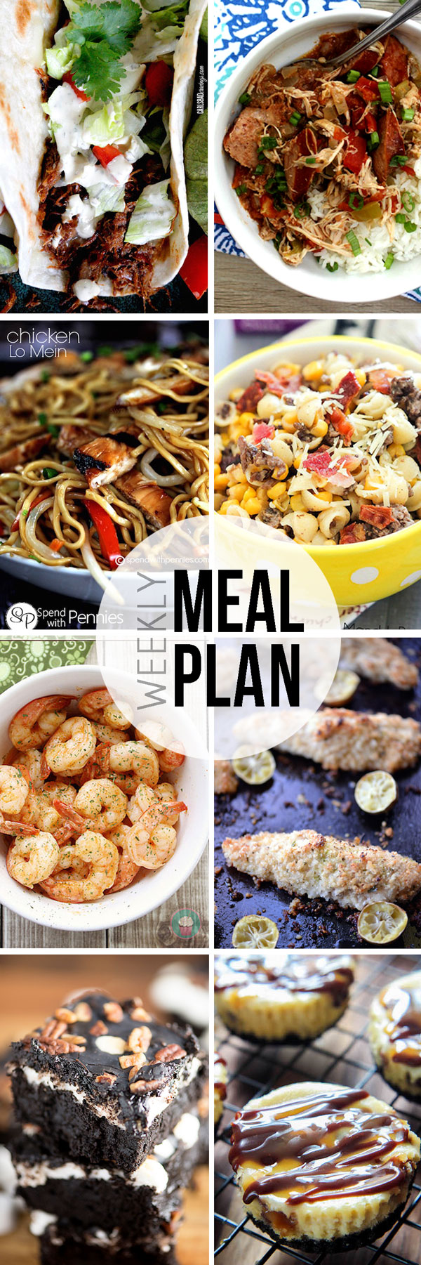 Easy Meal Plan Sunday #9