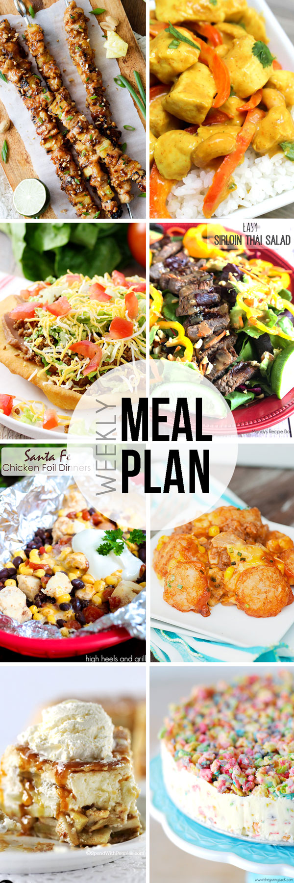 Easy Meal Plan Sunday #6.