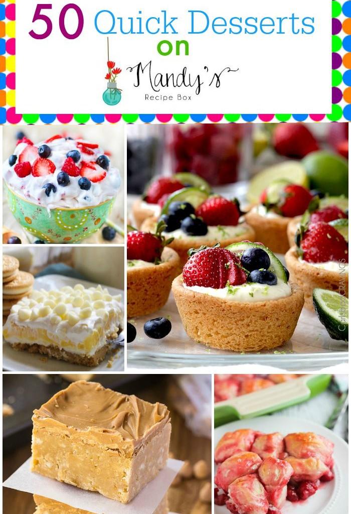 50 Quick Desserts
