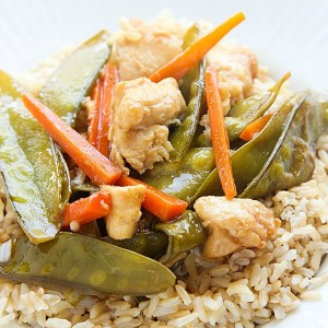 Velveted Chicken and Veggie Stir-Fry
