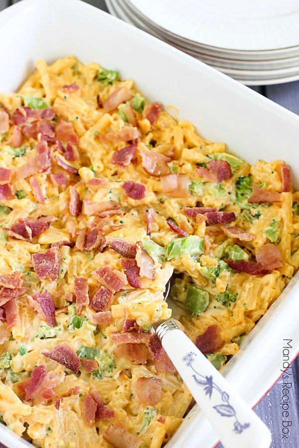 Bacon Macaroni Casserole