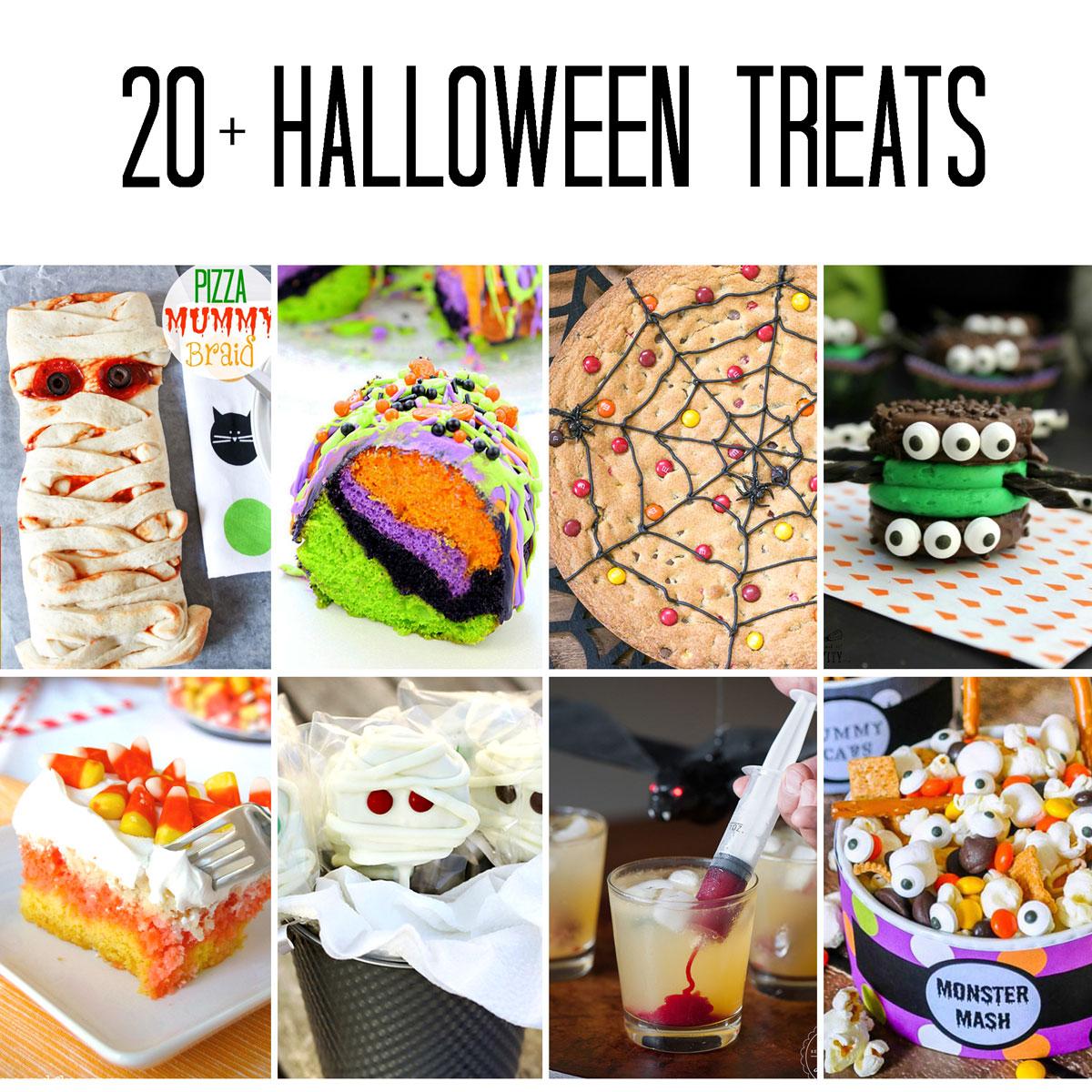 20+ Halloween Treats