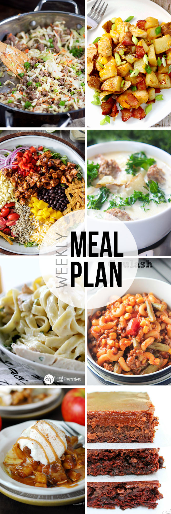 Easy Meal Plan Sunday #12.