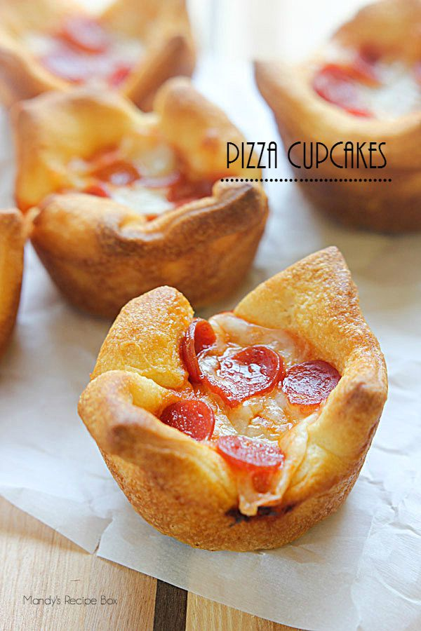 Pizza Cupcakes | Mandy's Recipe Box