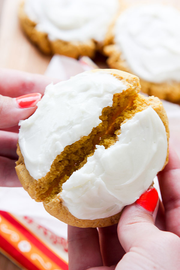 Pumpkin Sugar Cookies