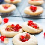 Pineapple Upside Down Shortbread Cookies