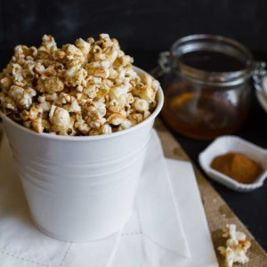 Cinnamon Honey Buttered Popcorn