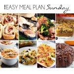 Easy Meal Plan Sunday #16