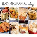 Easy Meal Plan Sunday #17