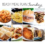 Easy Meal Plan Sunday #19