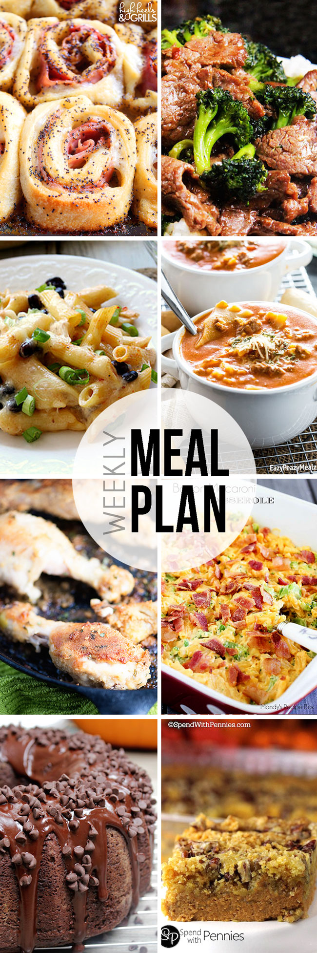 Easy Meal Plan Sunday #16.
