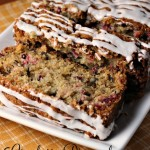 Cranberry Pineapple Walnut Bread