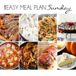 Easy Meal Plan Sunday #20