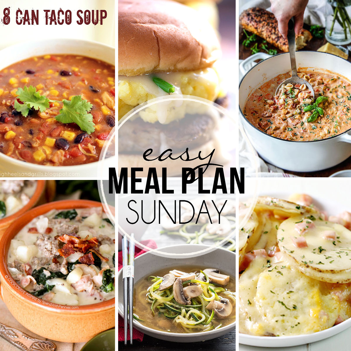 Easy Meal Plan Sunday #21