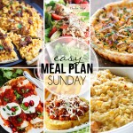 Easy Meal Plan Sunday #22