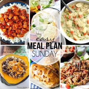 Easy Meal Plan Sunday #23