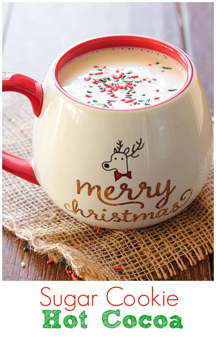 Sugar Cookie Hot Cocoa.