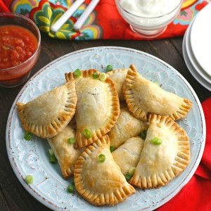 Mushroom and Black Bean Empanadas