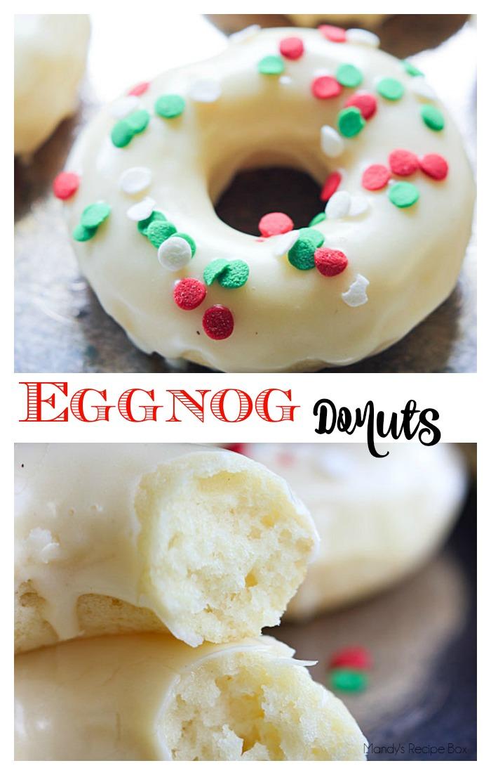 Eggnog Donuts.