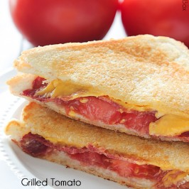 Grilled Bacon Tomato Cheese Sandwich | Mandy's Recipe Box