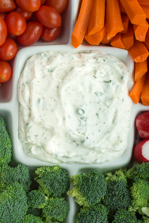 Lightened-Up Dilly Ranch Dip