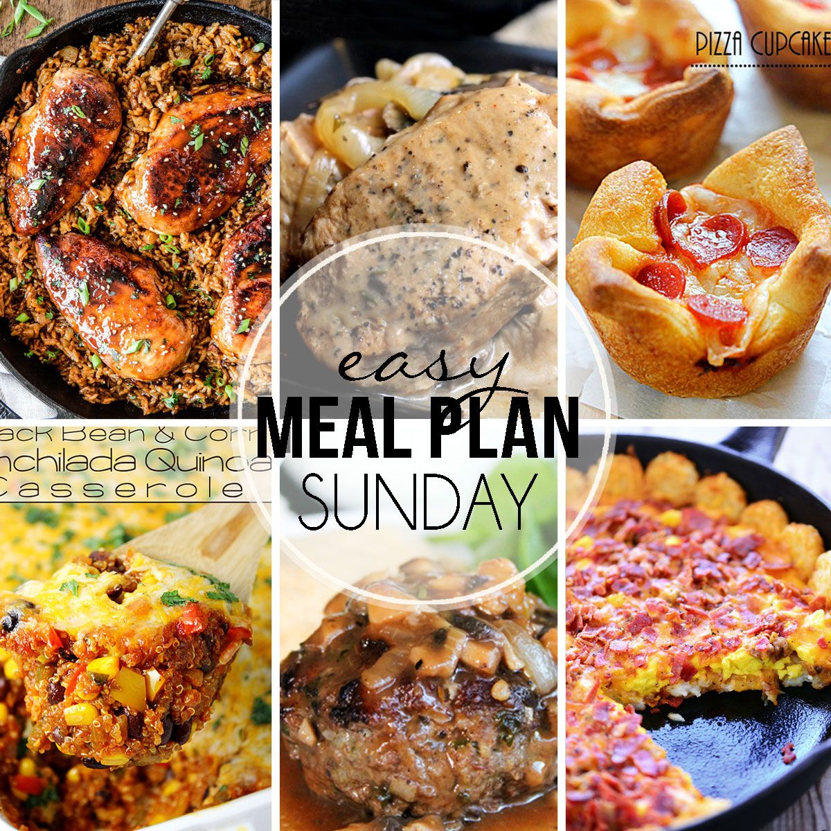 Easy Meal Plan Sunday #24