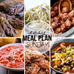 Easy Meal Plan Sunday #27