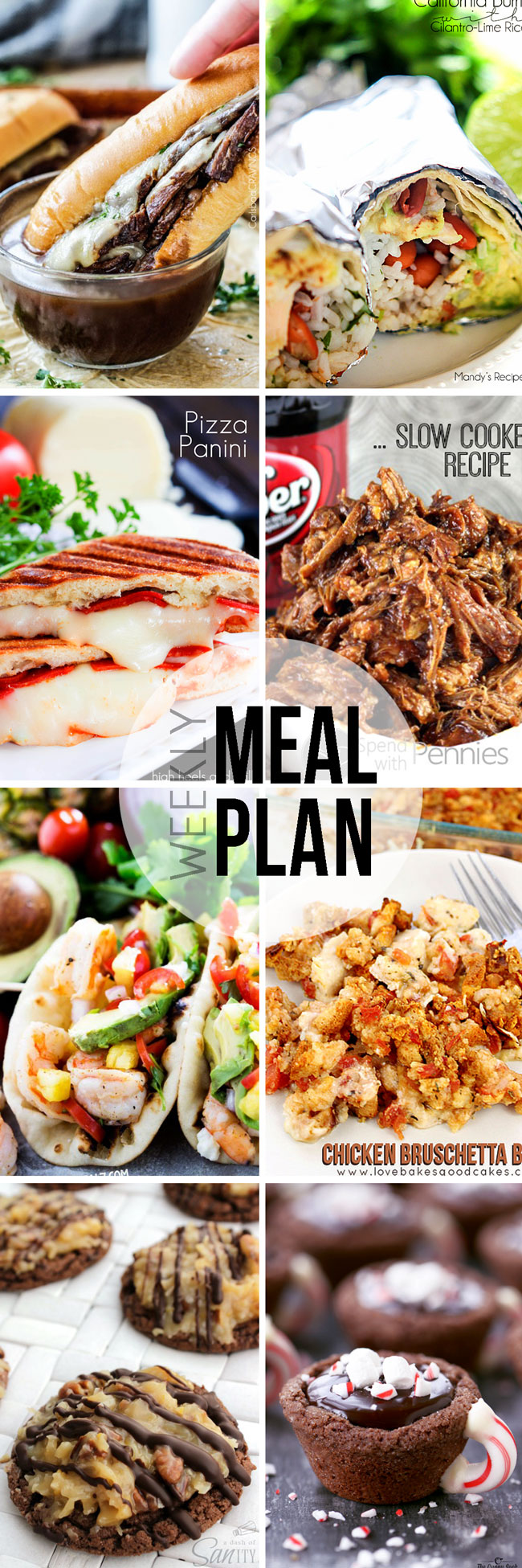 Easy Meal Plan Sunday #26