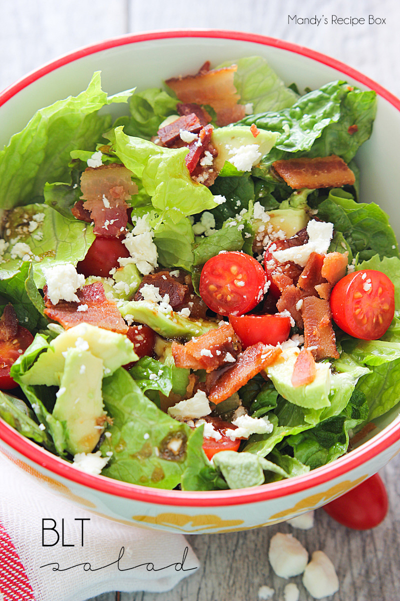 BLT Salad | Mandy's Recipe Box