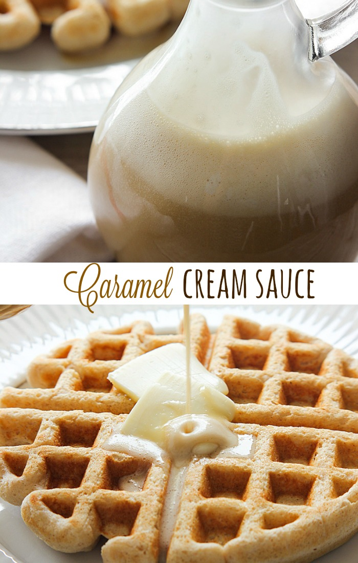Caramel Cream Sauce.