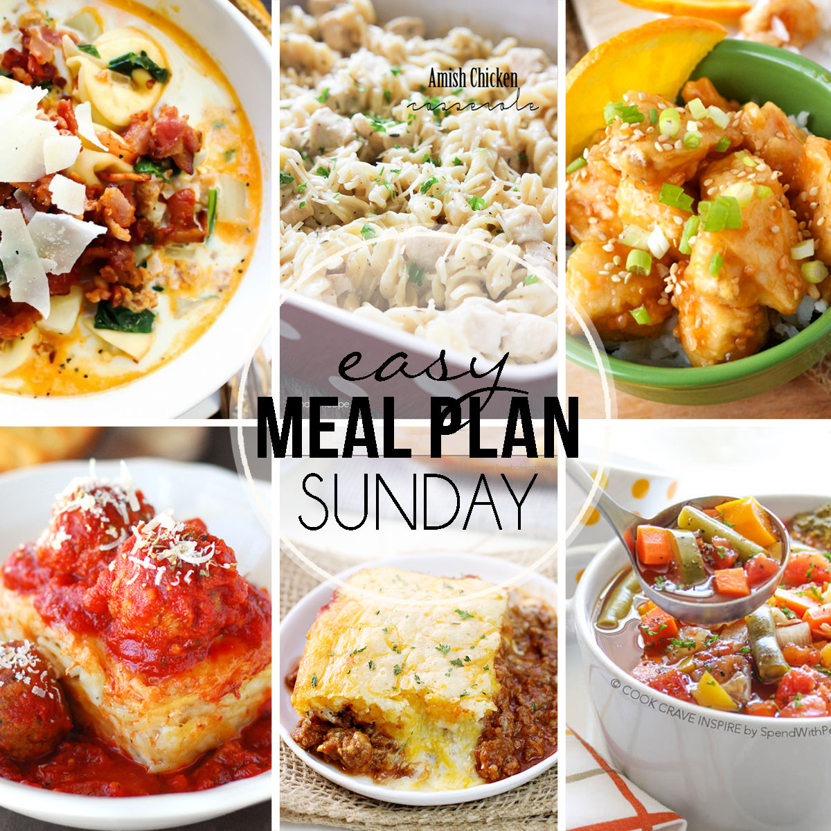 Easy Meal Plan Sunday #29