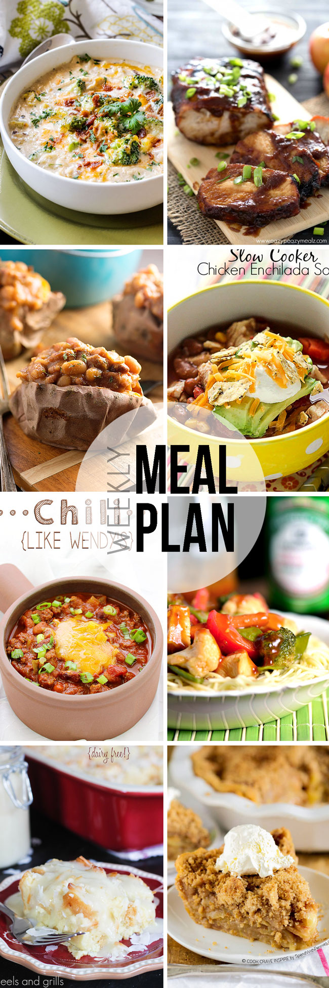 Easy Meal Plan Sunday #31