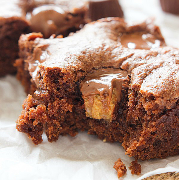 Peanut Butter Lunch Lady Brownies
