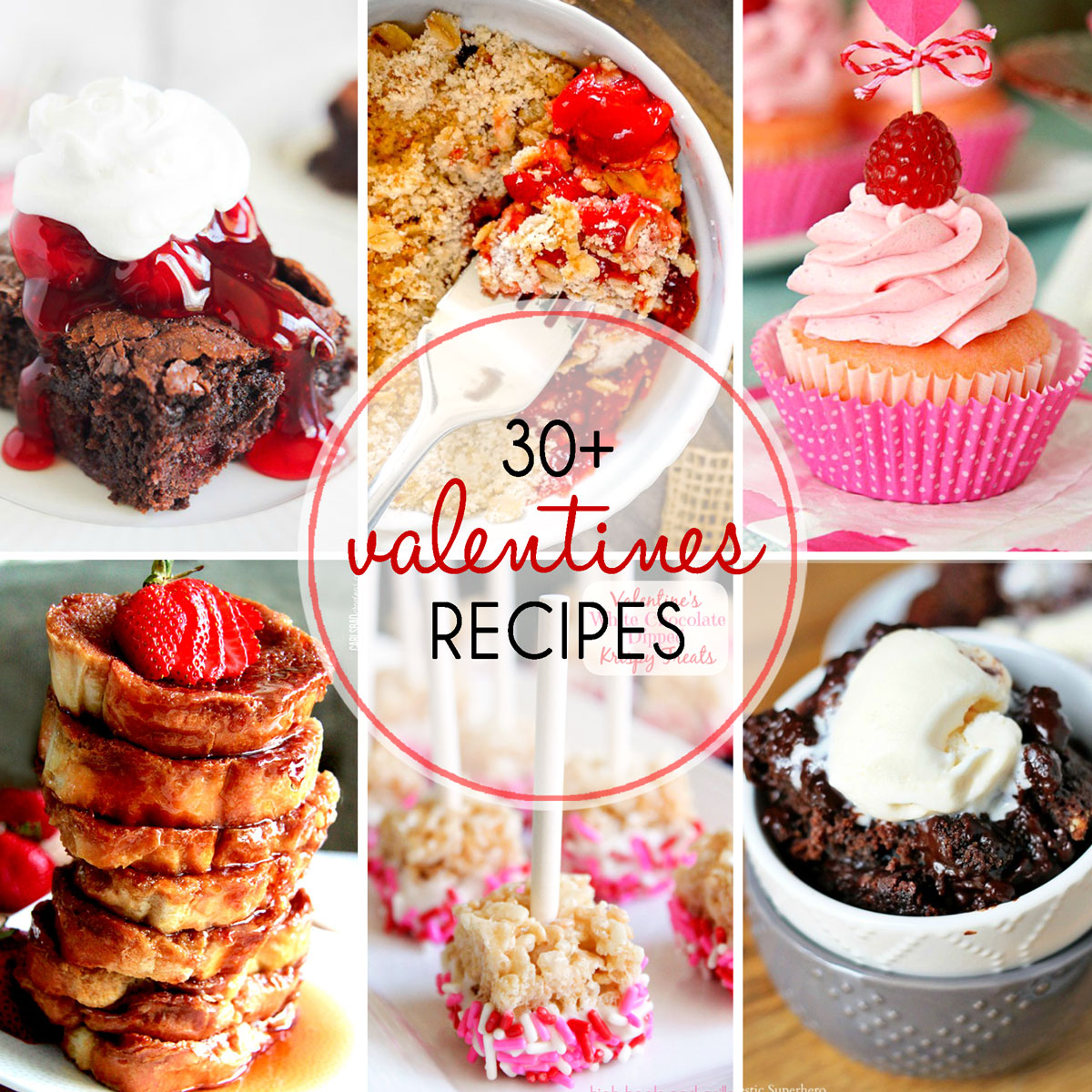 30+ Valentines Recipes