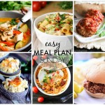 Easy Meal Plan Sunday #36