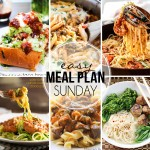 Easy Meal Plan Sunday #33