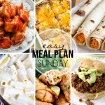 Easy Meal Plan Sunday #34