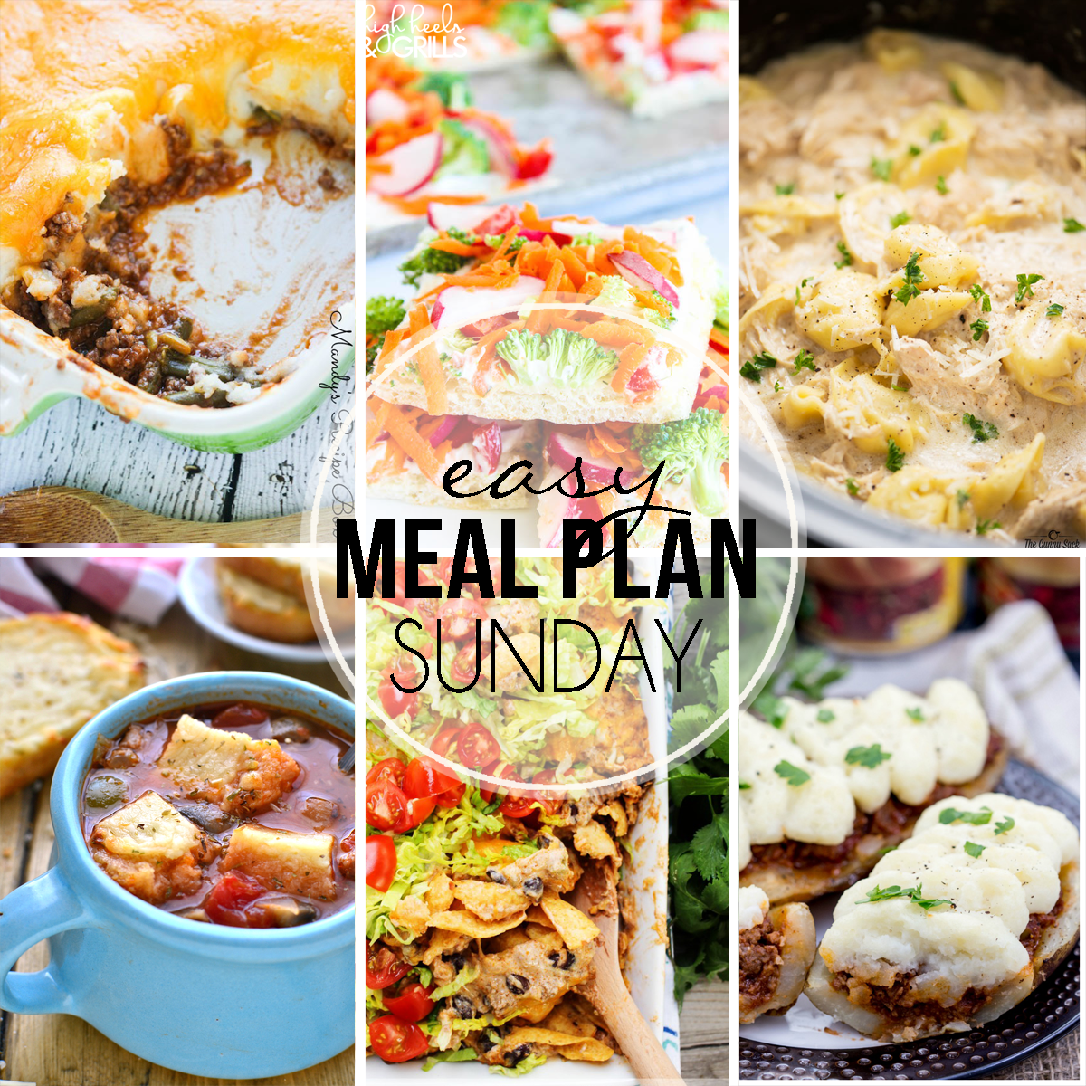 Easy Meal Plan Sunday #35