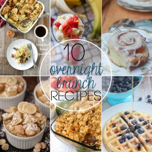 Overnight Brunch Recipes