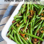 Almond Bacon Green Beans