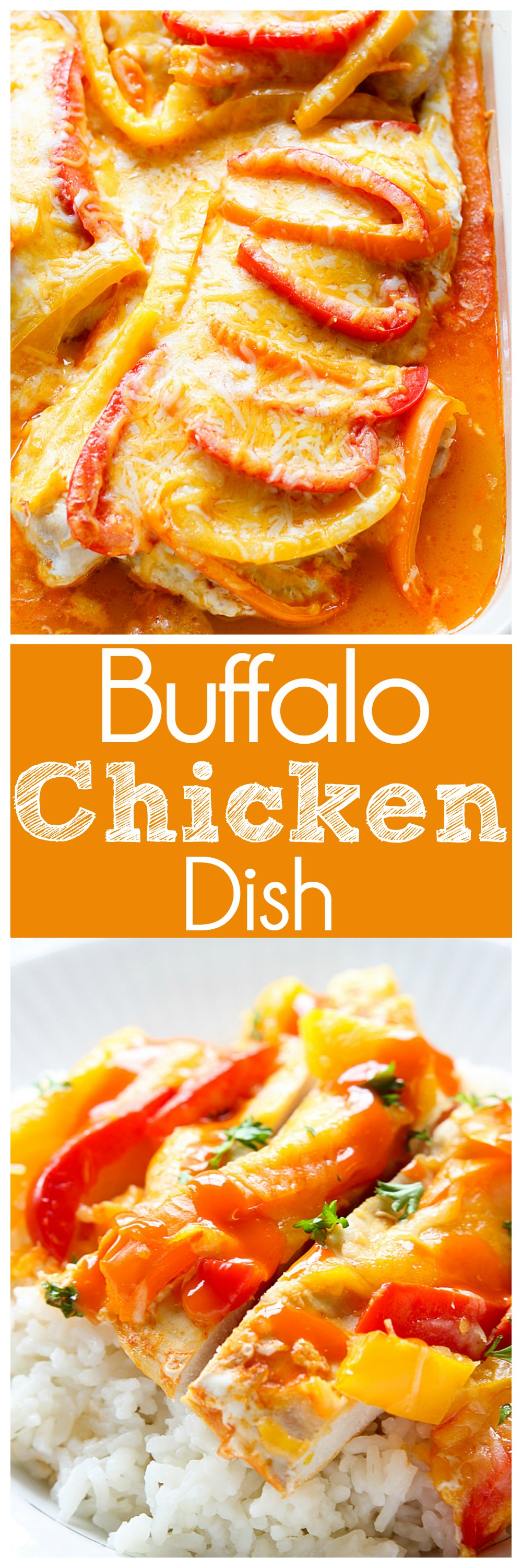 Buffalo Chicken Dish