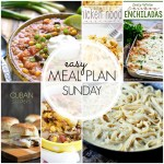 Easy Meal Plan Sunday #39