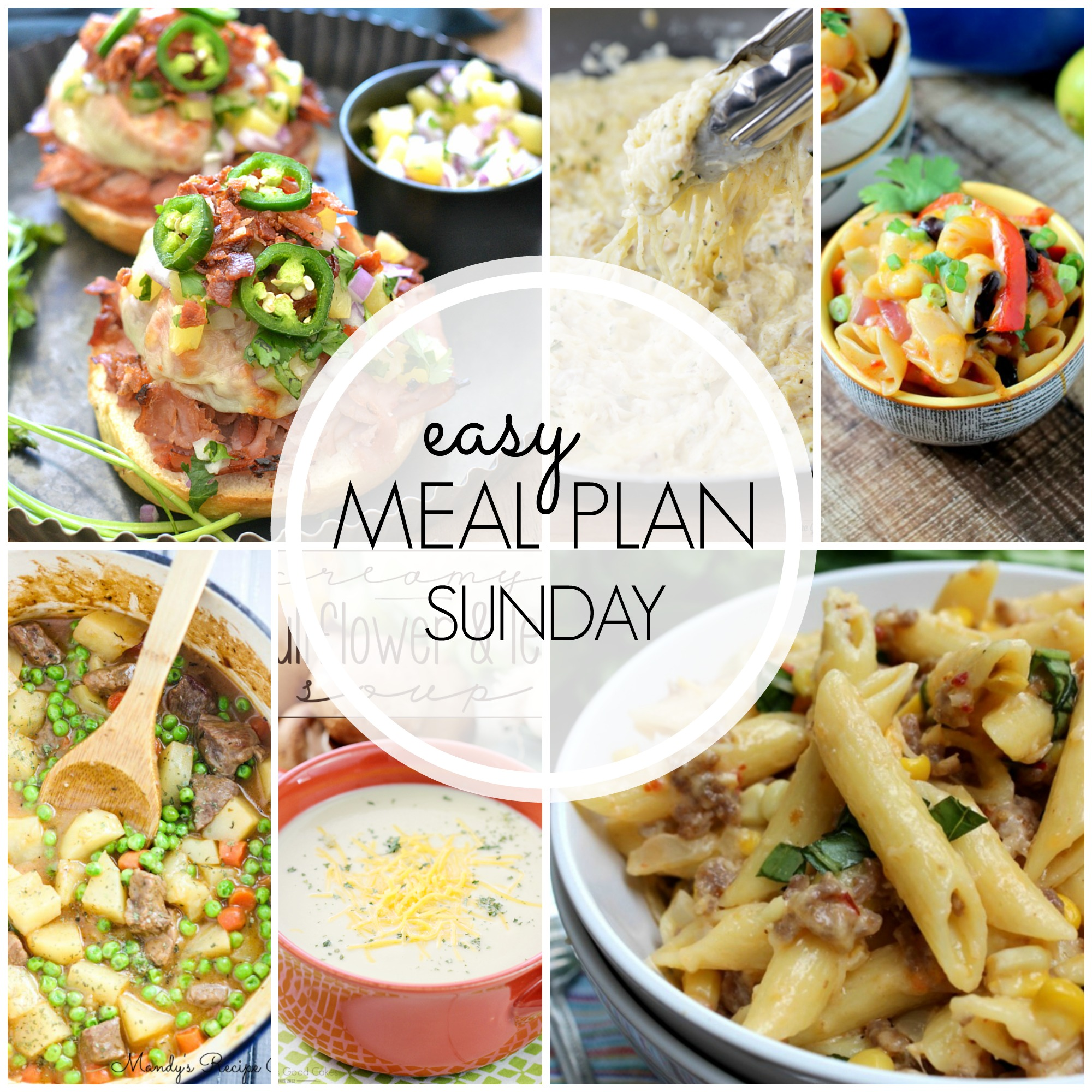 Easy Meal Plan Sunday #40