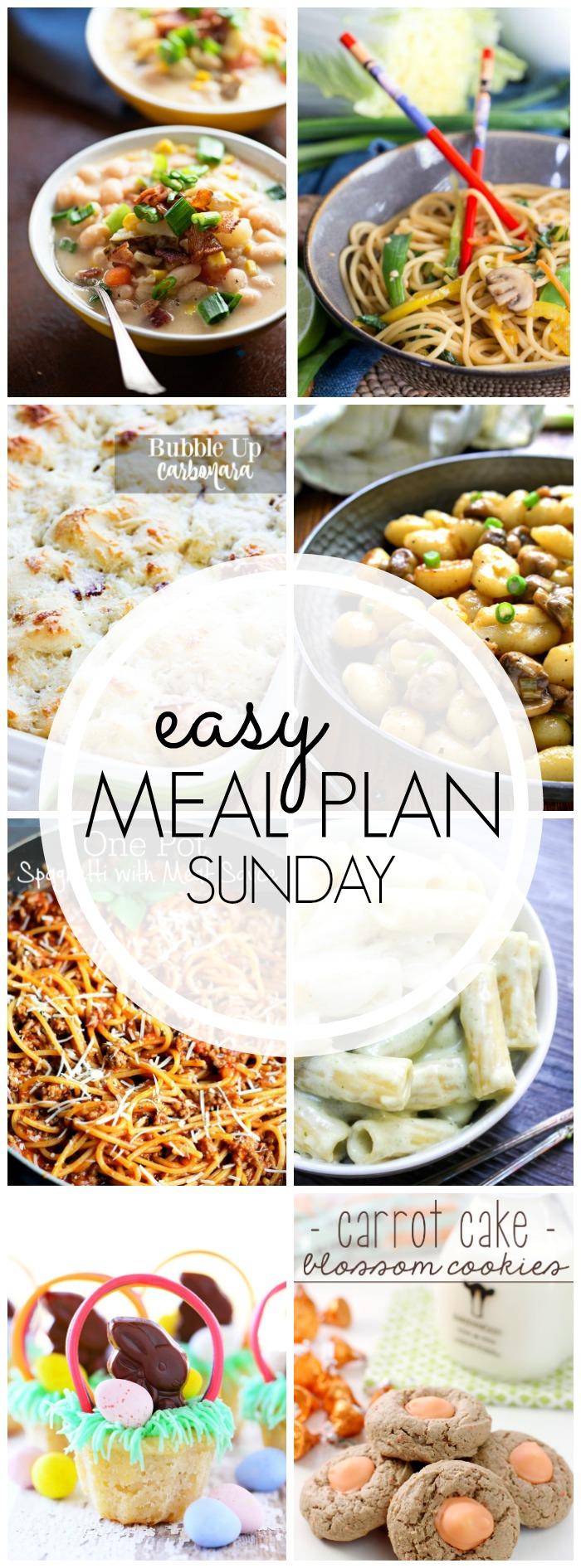 Easy Meal Plan Sunday #38